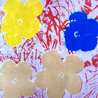 Flowers Poster 1967 HS Limited Edition Print - Andy Warhol