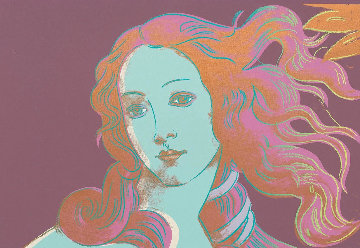 Birth of Venus 1984 FS.II 317 Limited Edition Print - Andy Warhol