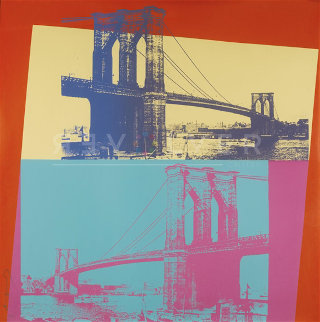 Brooklyn Bridge 1983 FS II.290 Limited Edition Print - Andy Warhol