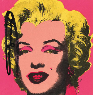 Marilyn (Announcement) 1981 Limited Edition Print - Andy Warhol