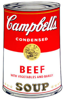 Beef Soup 1968 FS II.47   Limited Edition Print - Andy Warhol