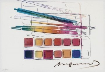 Watercolor Paint Kit with Brushes II.288 1982 Limited Edition Print by Andy Warhol