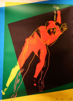 Speed Skater II.303  TP 1983 Limited Edition Print by Andy Warhol