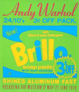 Brillo Soap Pads - Pasadena Art Museum Poster 1970 Other - Andy Warhol