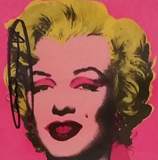 Castelli Marilyn Invitation 1981 Other - Andy Warhol