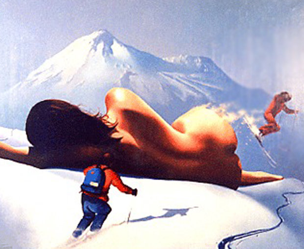 On  the Slopes 1986 25x31