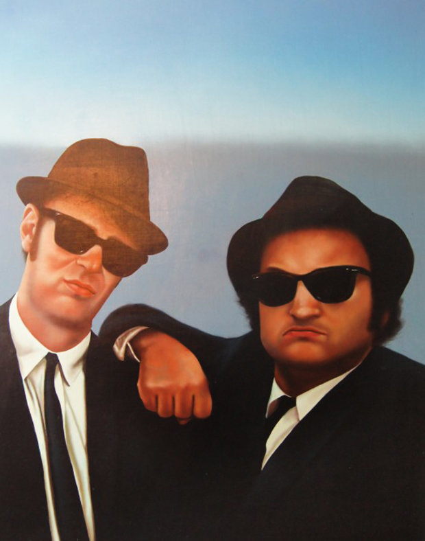 Blues Brothers 1986 26x32