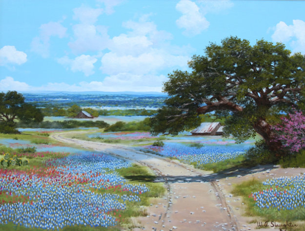 Road To The Blue Bonnet By W A Slaughter