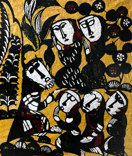 Sermon in the Mount 1963 Limited Edition Print - Sadao Watanabe