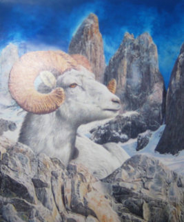 Capricorn 2000 Original Painting - Doug Webb