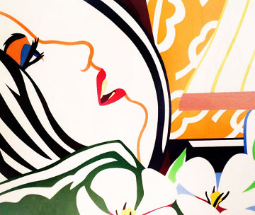 Bedroom Face 1987 Limited Edition Print - Tom Wesselmann