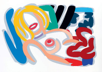 Big Blonde With Choker 1992 Limited Edition Print - Tom Wesselmann