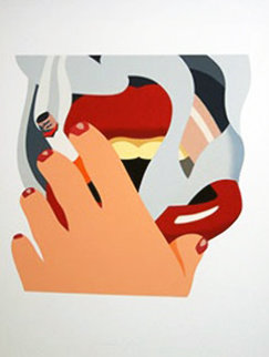 Smoker 1976 Limited Edition Print - Tom Wesselmann