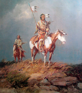 Nomads of the Plains 1984 Limited Edition Print - Olaf Wieghorst