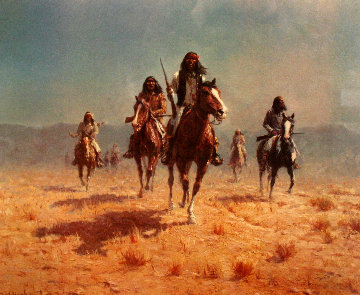 Apache Renegade 1978 Limited Edition Print - Olaf Wieghorst