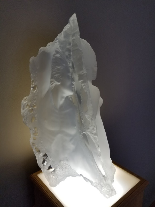 Dream Fragment 2 Acrylic Sculpture 1989 20 in