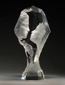 Touchstone Acrylic Sculpture 1996 13 in Sculpture - Michael Wilkinson