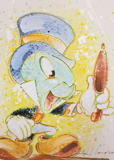 A Chipper Chirper (Jiminy Cricket)  AP Embellished  Limited Edition Print - David Willardson