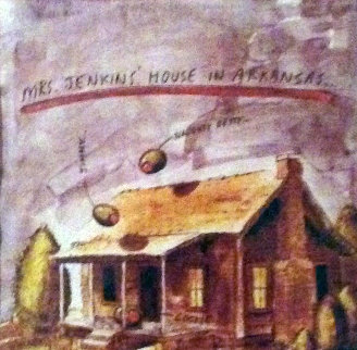 Mrs. Jenkins' House in Arkansas AP 1995 Limited Edition Print - Donald Roller Wilson