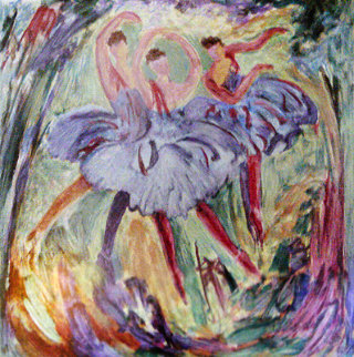 Arabesque 2000 Limited Edition Print - Barbara Wood