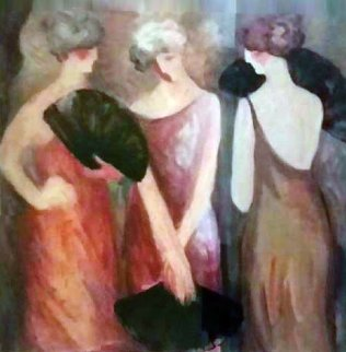 Intermission 1991 Limited Edition Print - Barbara Wood