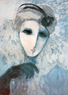 Mysterious Woman Limited Edition Print - Barbara Wood