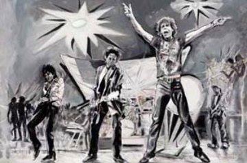 Bigger Bang 2005 Limited Edition Print - Ronnie Wood (Rolling Stones)