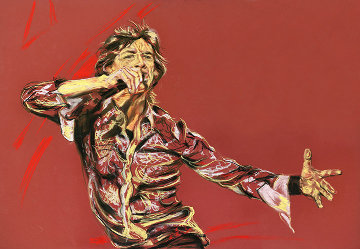 Outstretched Limited Edition Print - Ronnie Wood (Rolling Stones)