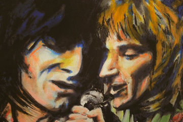 Ronnie And Rod 2005 Limited Edition Print - Ronnie Wood (Rolling Stones)
