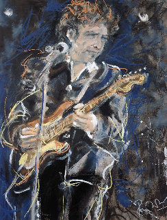 Dylan 1991 Limited Edition Print - Ronnie Wood (Rolling Stones)