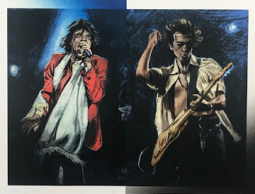 Stray Cat Blues Limited Edition Print - Ronnie Wood (Rolling Stones)