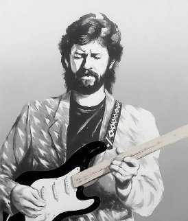 Eric Clapton II Limited Edition Print - Ronnie Wood (Rolling Stones)