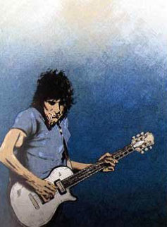 Solo I and Solo II 1992 Limited Edition Print - Ronnie Wood (Rolling Stones)