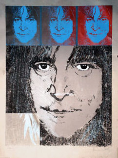 John Lennon (Number 1) 1988 Limited Edition Print - Ronnie Wood (Rolling Stones)