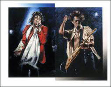 Stray Cat Blues 2002 Limited Edition Print - Ronnie Wood (Rolling Stones)
