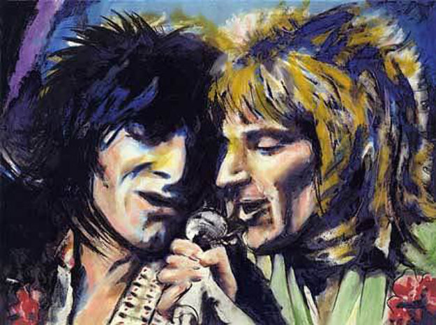 Rod And Ronnie By Ronnie Wood Rolling Stones
