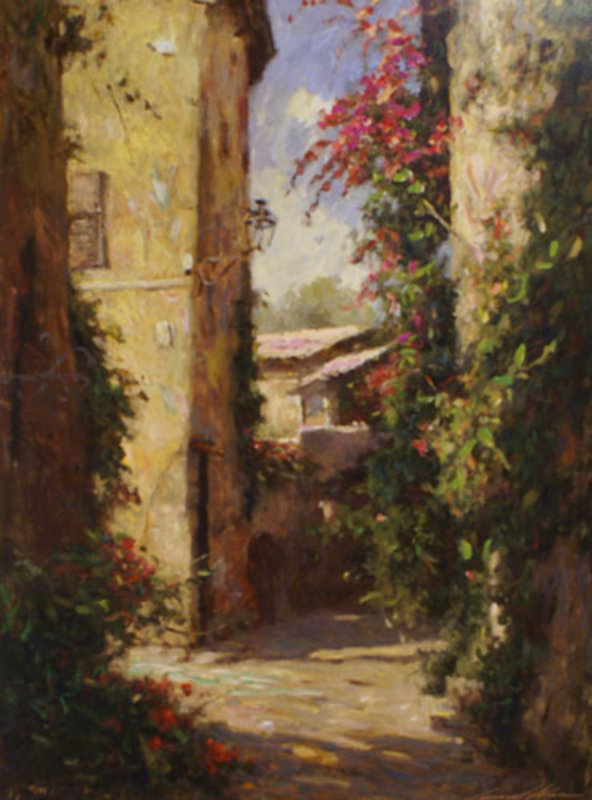 LEONARD WREN - Artist, Galleries in Carmel California ... |Leonard Wren Paintings