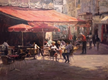 Cafe Et Pastries AP 2002 Limited Edition Print - Leonard Wren