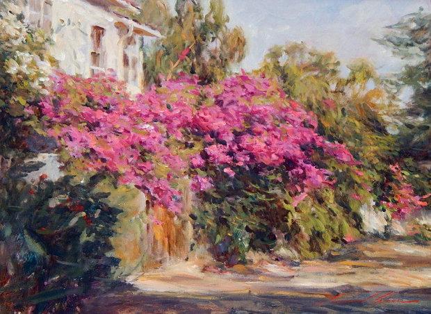Leonard Wren | Impressionist paintings, Art painting oil ... |Leonard Wren Paintings