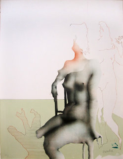 Bien Assise 1970 Limited Edition Print - Paul Wunderlich