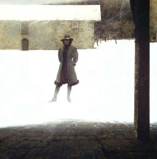 Outpost 1972 Limited Edition Print - Andrew Wyeth