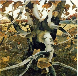 Hunter 1995 HS Limited Edition Print - Andrew Wyeth
