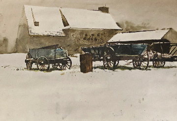 Rural Holiday HS  Limited Edition Print - Andrew Wyeth