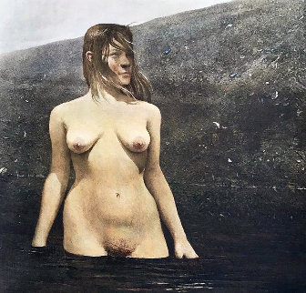 Sea Bed 1980 HS Limited Edition Print - Andrew Wyeth