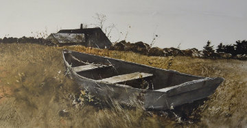Teel\'s Island 1976 HS  Limited Edition Print - Andrew Wyeth