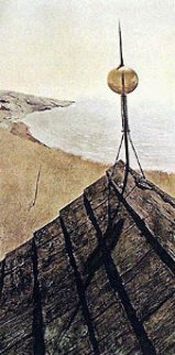 Northern Point HS 1971 Limited Edition Print - Andrew Wyeth