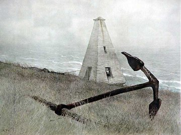 Sea Running HS  1981 Limited Edition Print - Andrew Wyeth
