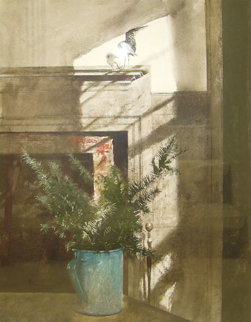 Bird in the House 1984 HS Limited Edition Print - Andrew Wyeth