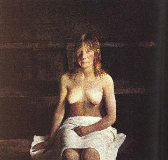 Sauna HS 1978 HS Limited Edition Print - Andrew Wyeth
