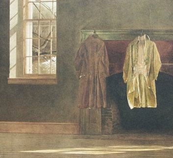 Quaker 1976 Limited Edition Print - Andrew Wyeth